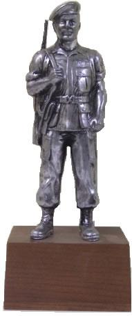Vietnam Special Forces Soldier - Resin, Pewter Finish